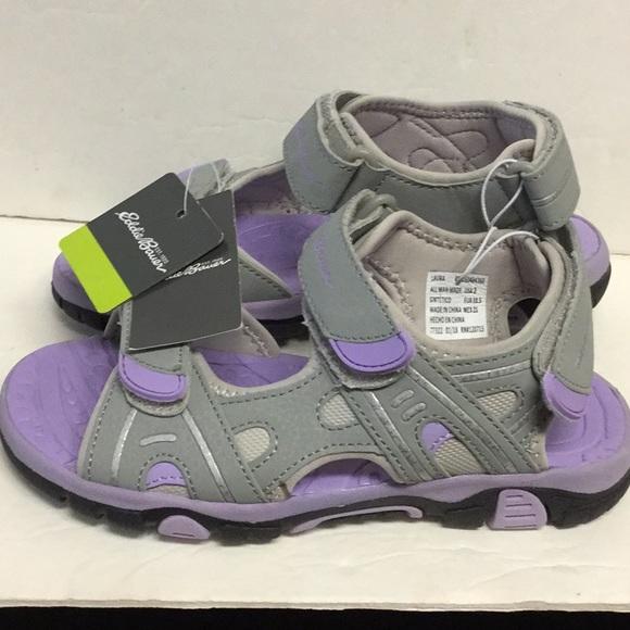 672725d390e Eddie Bauer Girls River Sandals